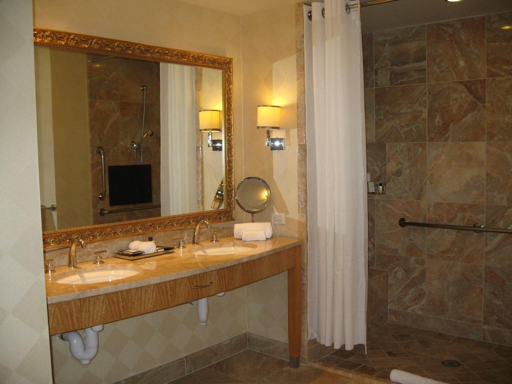 Badezimmer und Wellnessbereiche